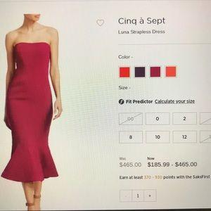 Cinq a Sept Dress